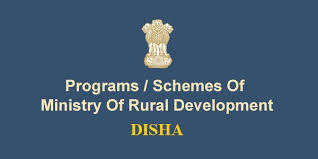 Programs/schemes of Ministry of rural developement DISHA