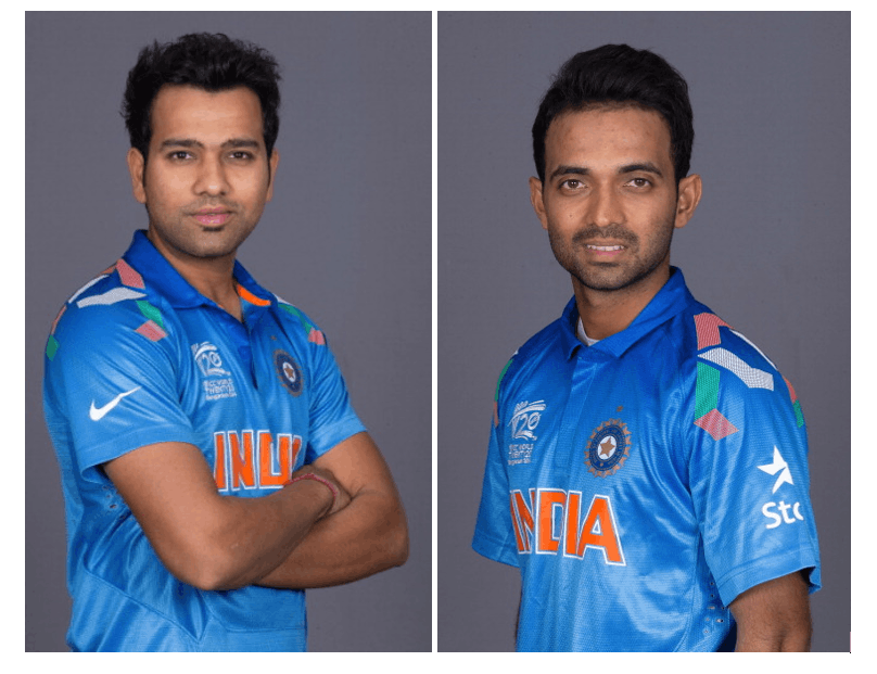 Ajinkya Rahane and Rohit Sharma