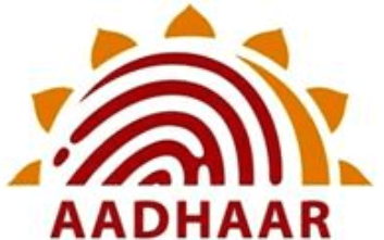 Image shows the AADHAAR