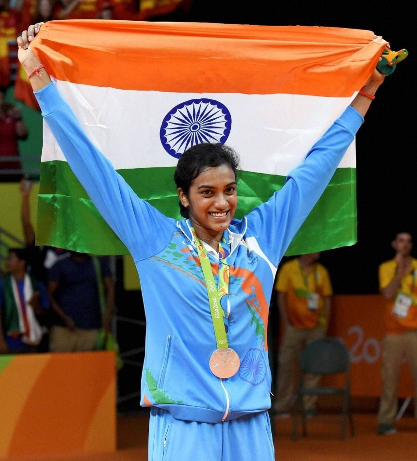 P V Sindhu First Indian women to win silver medal at Olympics