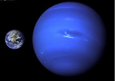 Image of the signs of strong water in Neptune