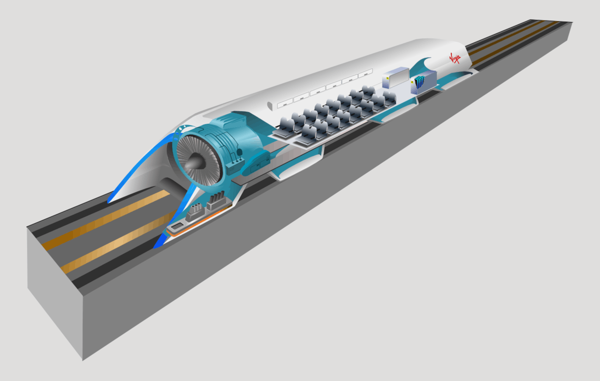 Image of Hyperloop Transportation Technologies
