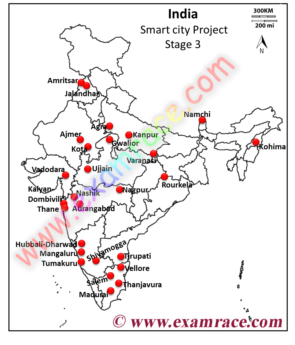 27 cities selected for smart cities mission in 3rd stage location of smart city project stage 3 gumiabroncs Choice Image