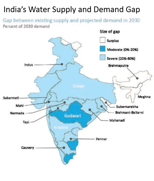 Image of Water Availability In India