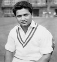 Image of Pakistani cricketer Hanif Mohammed