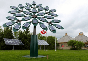 Image shows the Solar Power Tree