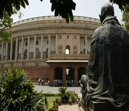 Image shows the Parliament