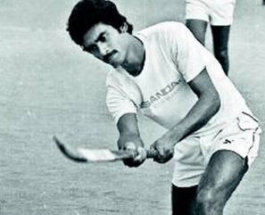 Image of Indian hockey player Mohammed Shahid