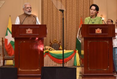 Image of India's Balancing Act In Myanmar