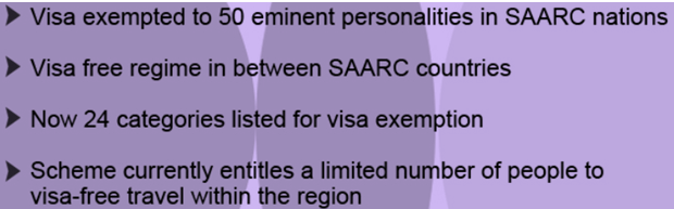 About SAARC visa exemption scheme