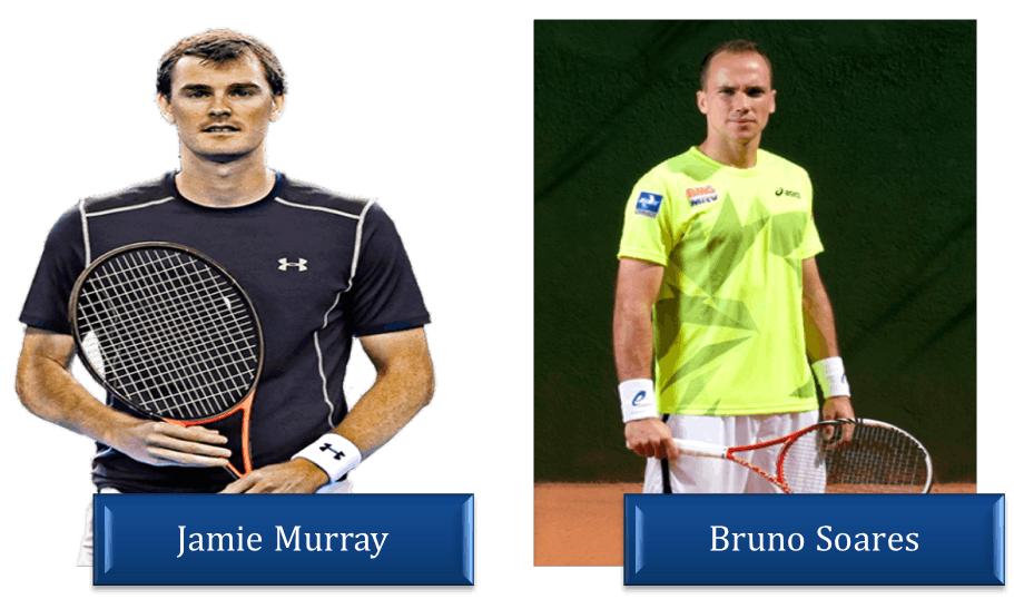 Image of Jamie Murray and Bruno Soares