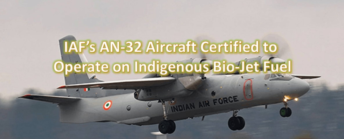 This image in IAF's AN-32 Aircraft formally certified