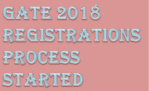 Image of Gate 2018 Registrations Process Started