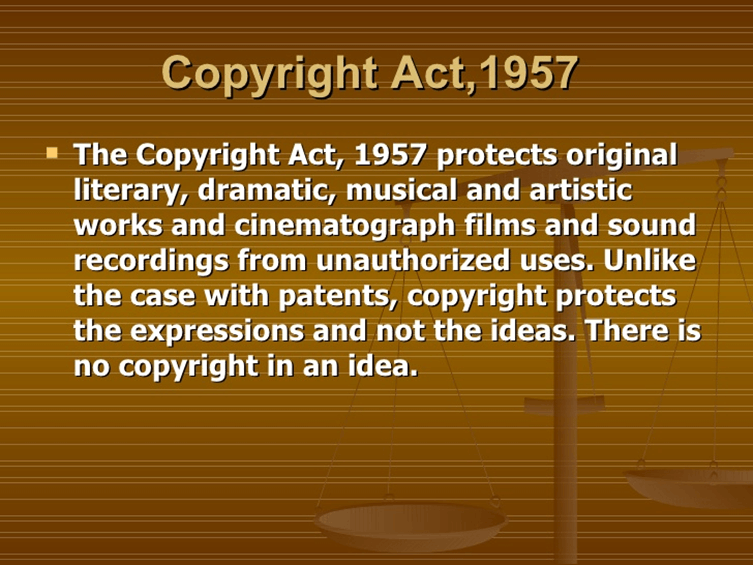 Image of Copyright Act