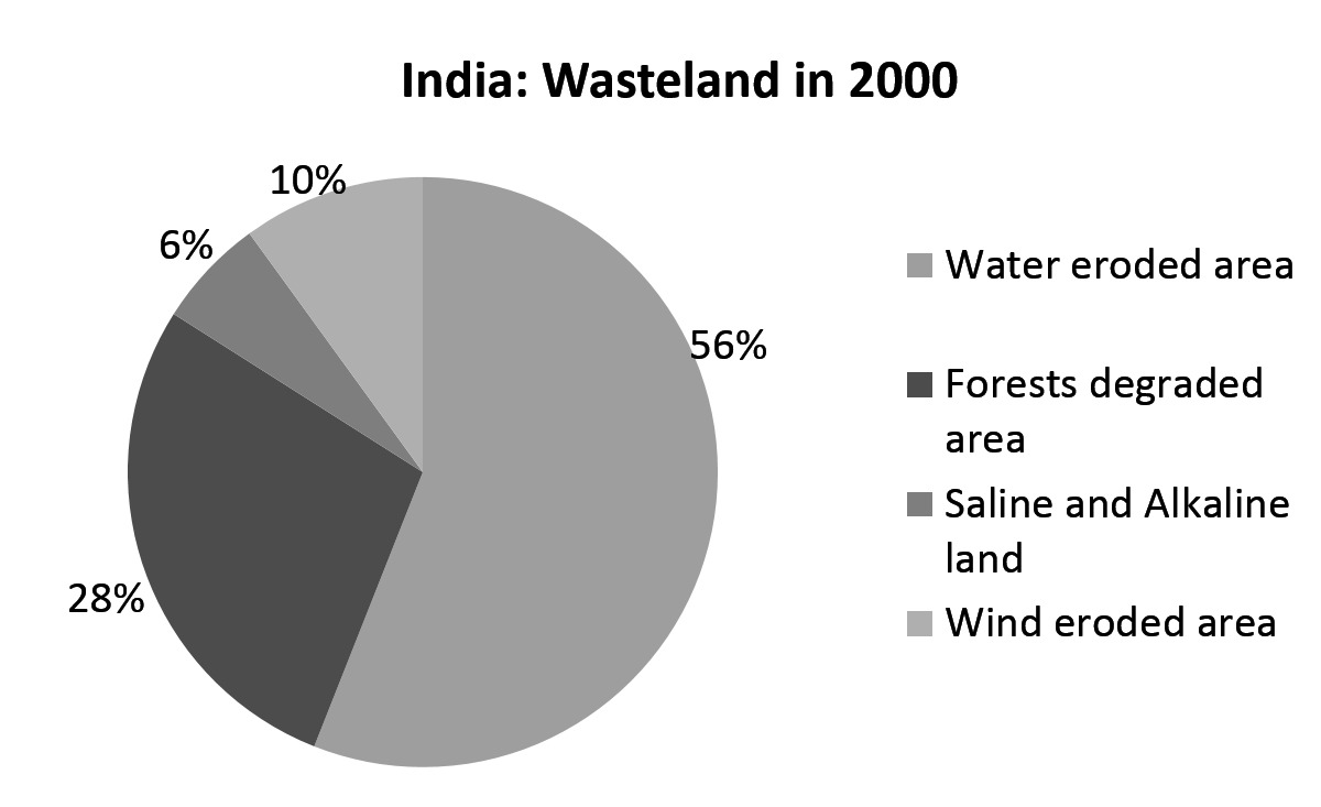 Image of India: Wasteland In 2000