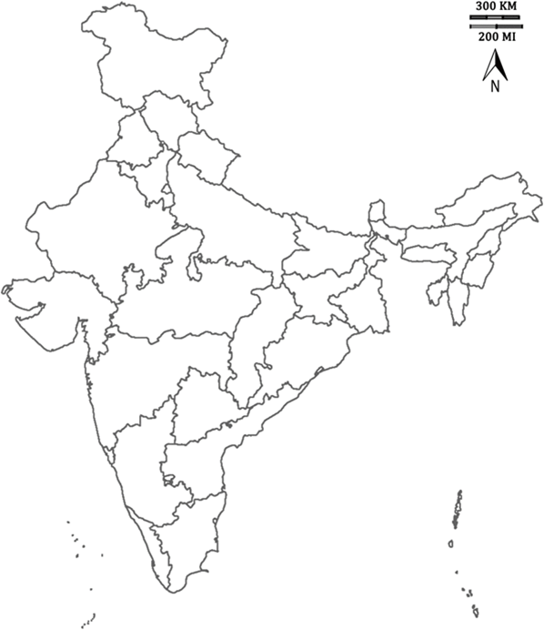 Image of Political Geography of India