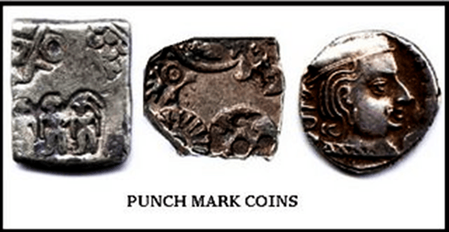 Image of Silver of Copper Coins For History
