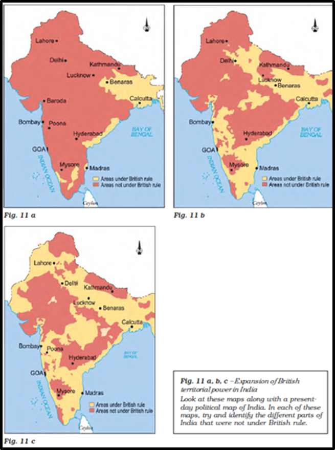 Image of Expansion of British Territorial Power In India