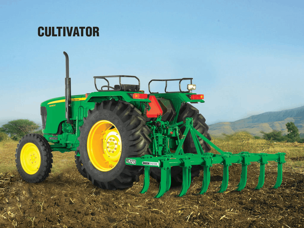 tractor driven and saves time and labor