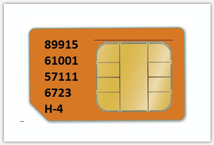 Image of What does mean of numbers on the back side of SIM card
