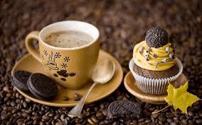 Image of coffee and sweets