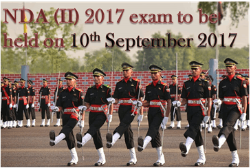 NDA II 2017 Exam to be Held on 10<sup>th</sup> September 2017
