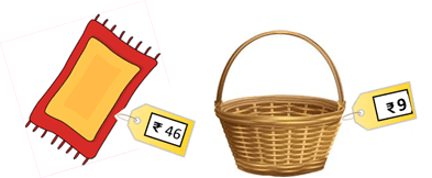 Image mat and basket