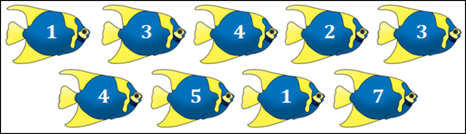 Image of 9 fishes