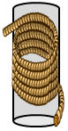 Image of the length of rope