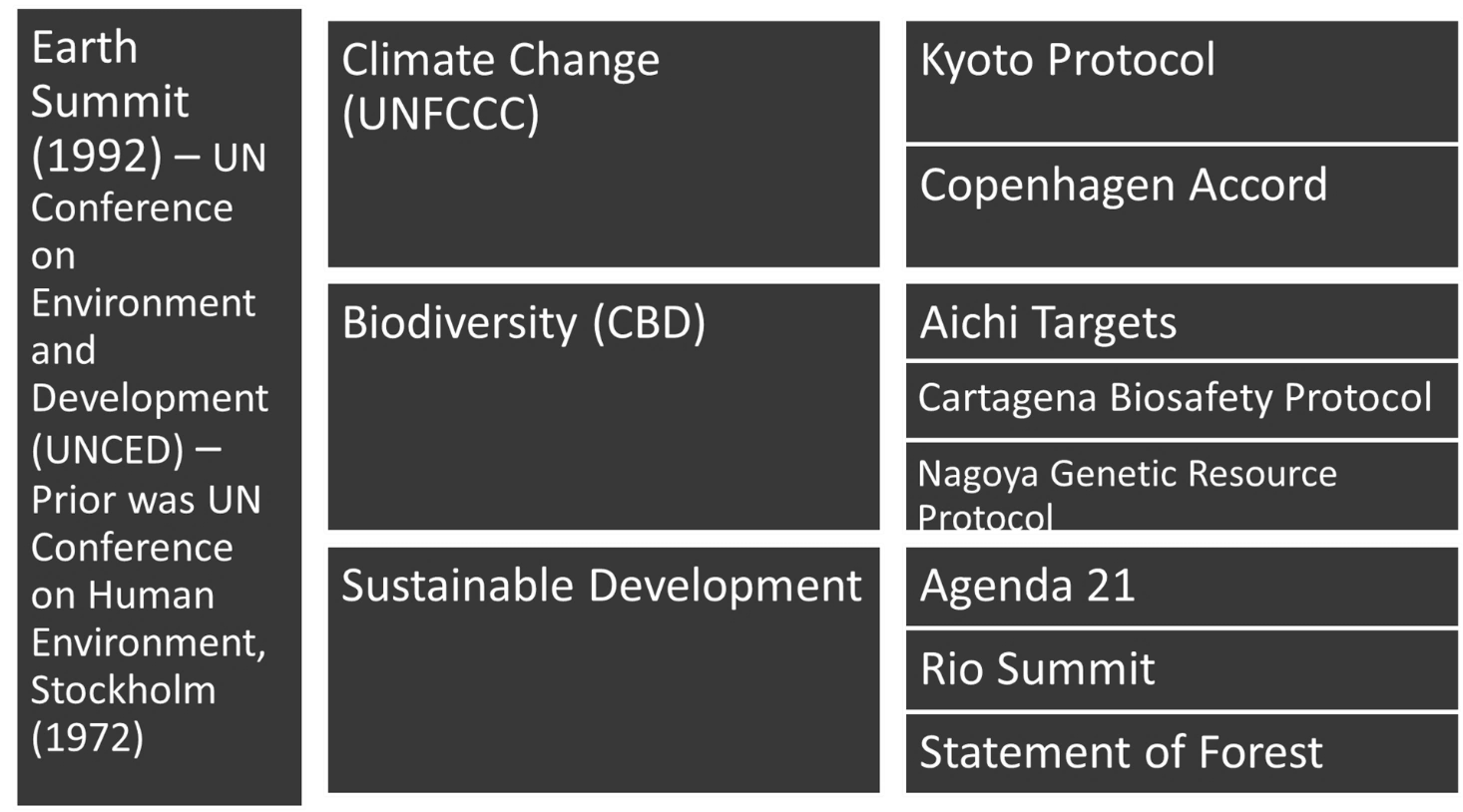 Image of Earth Summit Key Aspects