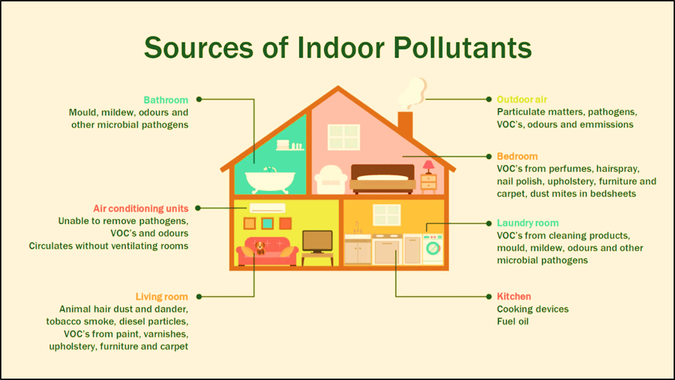 Indoor and Outdoor Pollutants