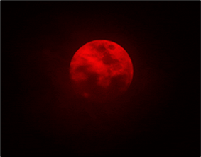 Blood Moon or Red Moon