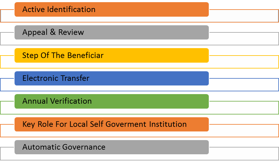 image of Key Principles of the Schemes under NSAP