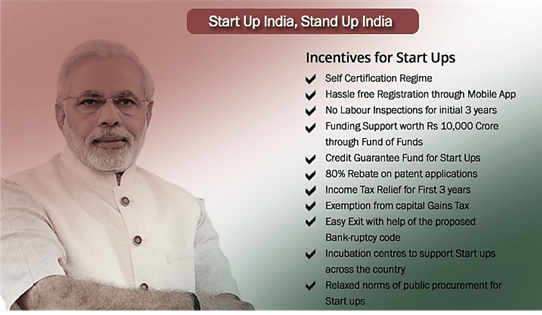 Start Up India and Stand Up India