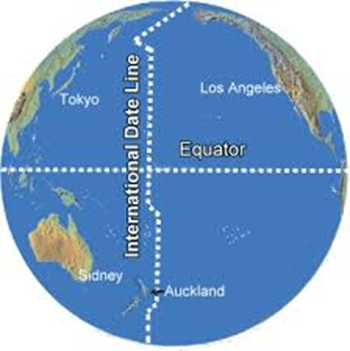 Image of International Date Line