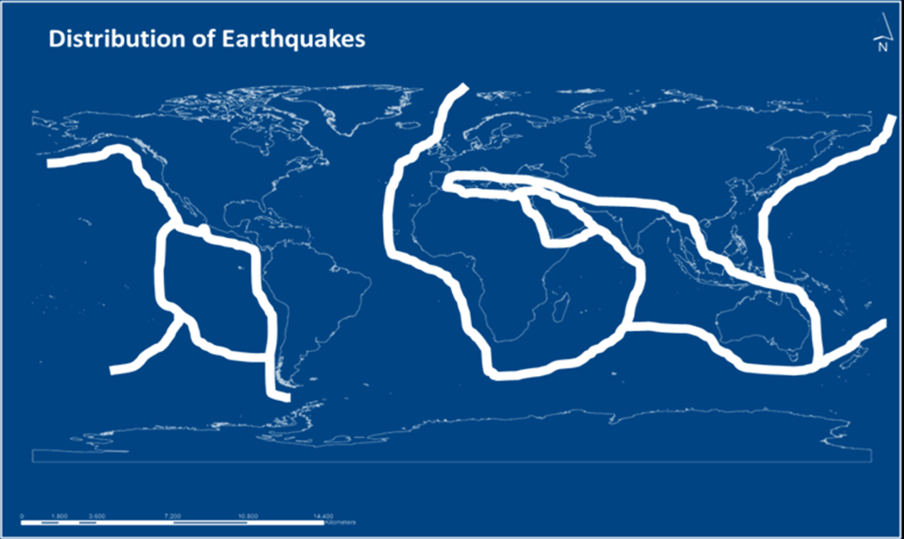 Earthquake Distribution Image
