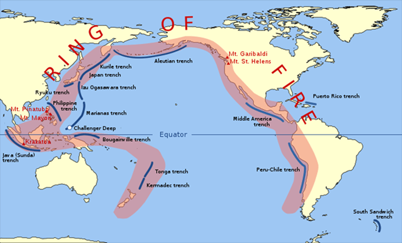 Pacific Ring of Fire Image