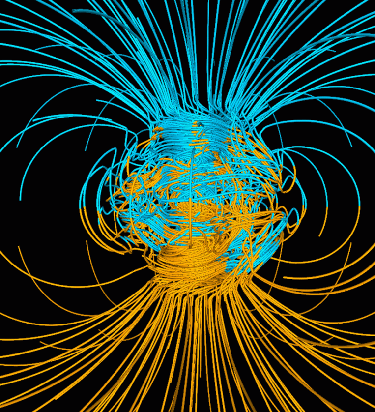 Earth's Actual Magnetic Field Image-1