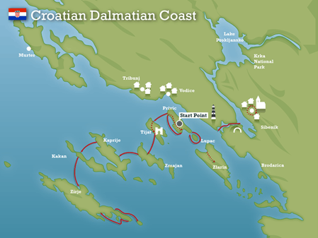 Image of dalmatian coast
