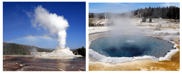 Image of Geyser And Hot Springs