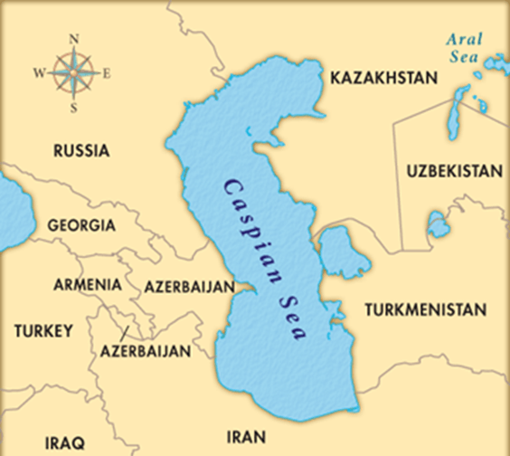 Image of Caspian Sea