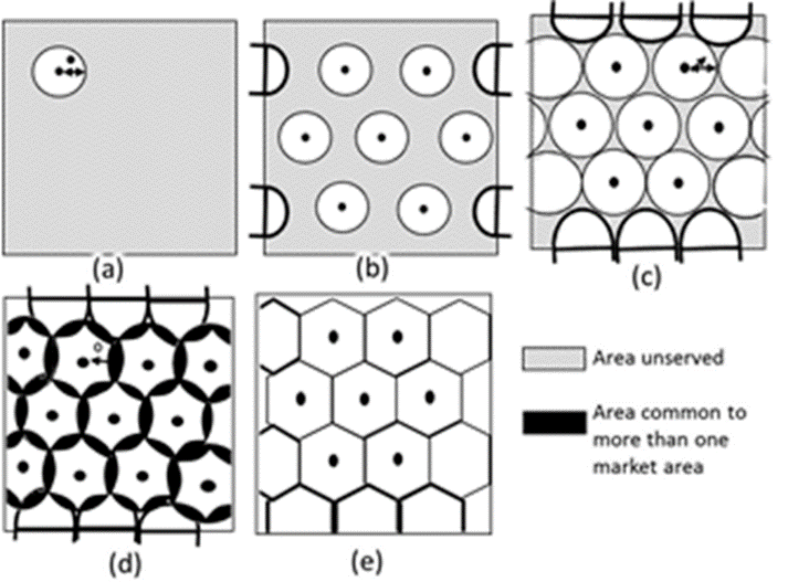 Image of Hexagons For Losch