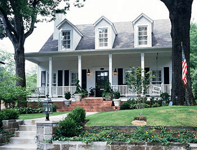 Image of Southern Colonial Style House