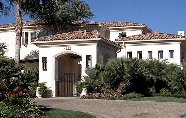 Image of Spanish Colonial Style House