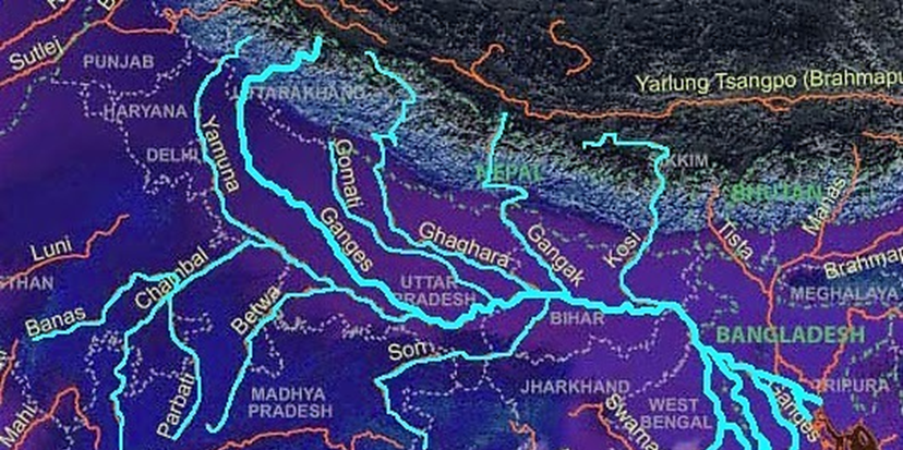 Drainage of India Rivers Iamge-7