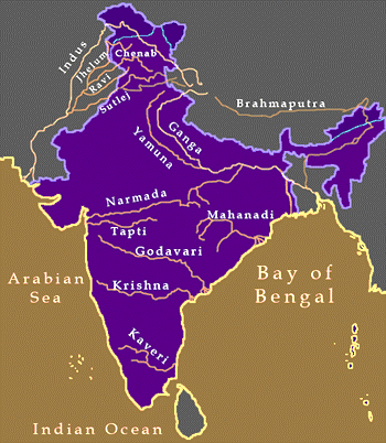 Drainage of India Rivers Iamge-9