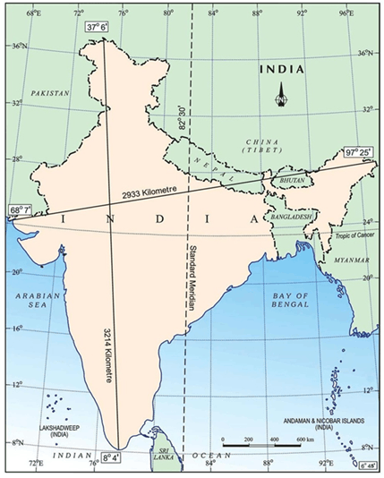 Image of Standard Meridian of India