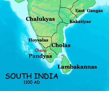 detailed map of Pandyas of Madurai empire