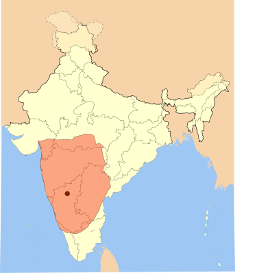 map of chalukvas dynasty