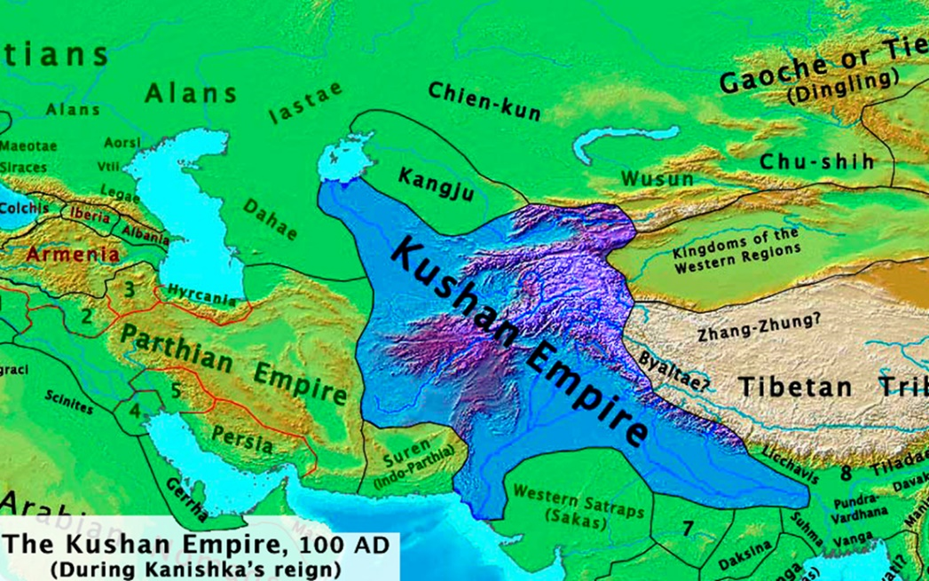 Image of Kushanas Empire